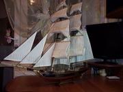 Декоративные корабли ручной работы