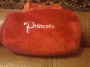 Красивая мохнатая маленькая сумочка для маленьких принцес,  пересылаю