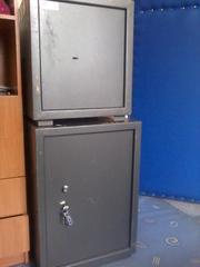 сейфи офисные (б/у) недорого (500х500х500 та 700х600х600)