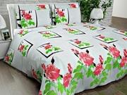 Купить постельное белье недорого,  Комплект семейный «Нежная роза»