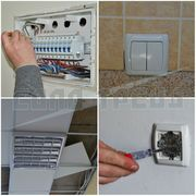 Електромонтажні роботи (влаштування електропроводки
