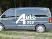 Передний салон,  левое стекло на автомобиль Mercedes-Benz Vito 96-03