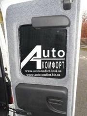 Заднее стекло (распаш. Пр.) без эл.обогрева Opel Combo C(2001–2011)