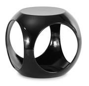 Столик журнальный,  дизайнерский Ронни,  цвет черный