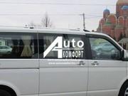 Передний салон,  правое стекло на Volkswagen Transporter Т-5