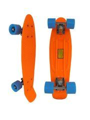 Скейтборд Penny Board 22 оранжевый