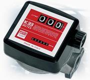 Механический счетчик-расходомер для диз топлива К33 PIUSI (20-120л/мин)