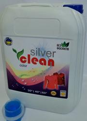 Рідкий пральний порошок Silver Clean 10l оптом і вроздріб