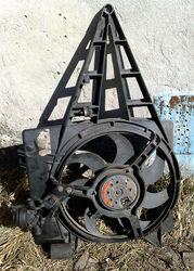 Вентилятор охлаждения радиатора Opel Omega,  разборка opel  бу запчасти