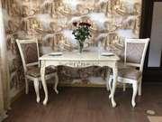 Якісні столи,  крісла,  пуфи та інші меблі із дерева під замовлення