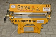 Ручной листогиб Sorex ZGR 660 (Польща)