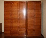 Продам спальню у хорошому стані світло-коричневого кольору. Ціна 1700 грн.